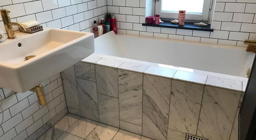 renovera badrum själv