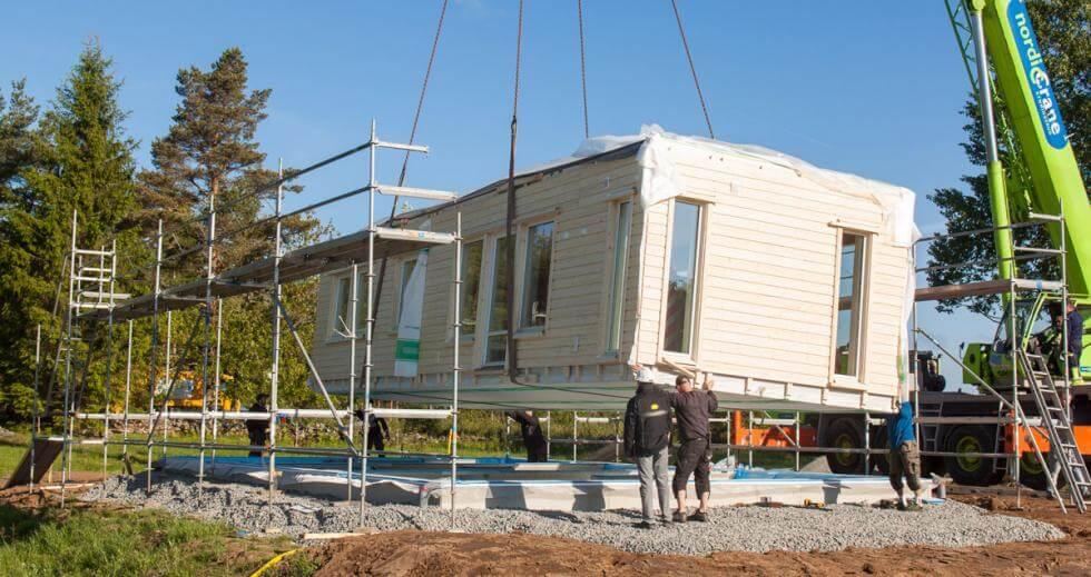 att bygga hus