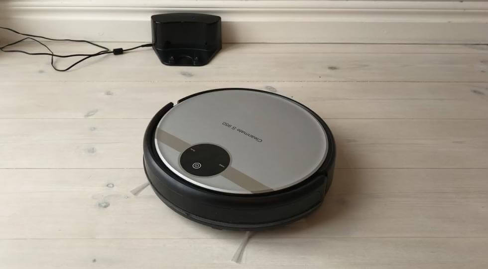 Cleanmate S 950 - test robotdammsugare