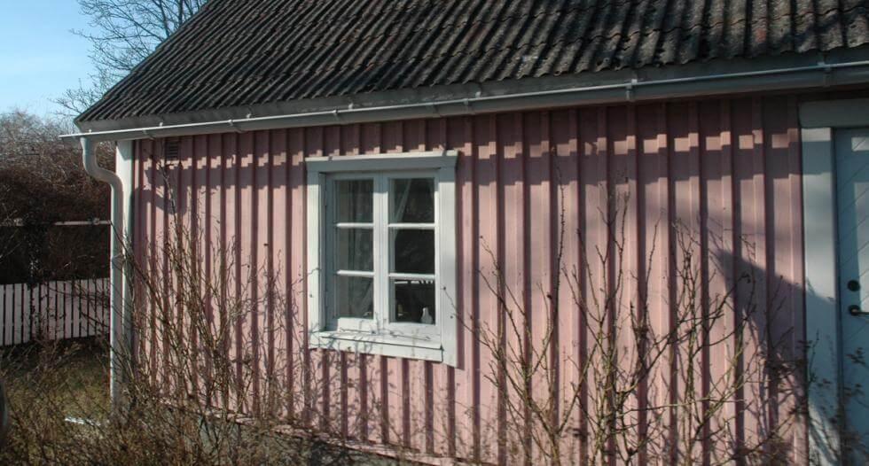 järn på gamla hus