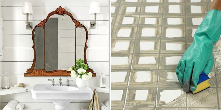 Nya detaljer eller byta färg på kakelfogen är exempel på snabba lyft av  badrummet. f29fd5fbfc10c