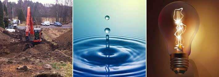 el och vatten