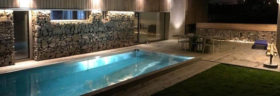 bygga pool inomhus