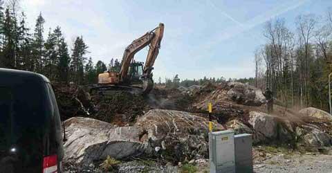 kostnad grävning per meter