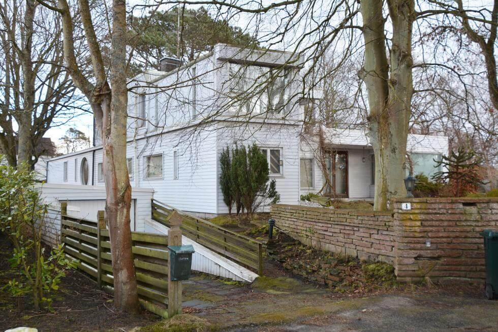 Josef Franks hus i Falsterbo Byggahus se