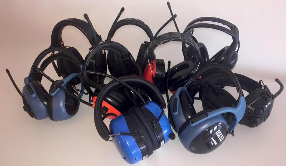 Omtyckta Test hörselskydd med radio/Bluetooth | Byggahus.se QR-13