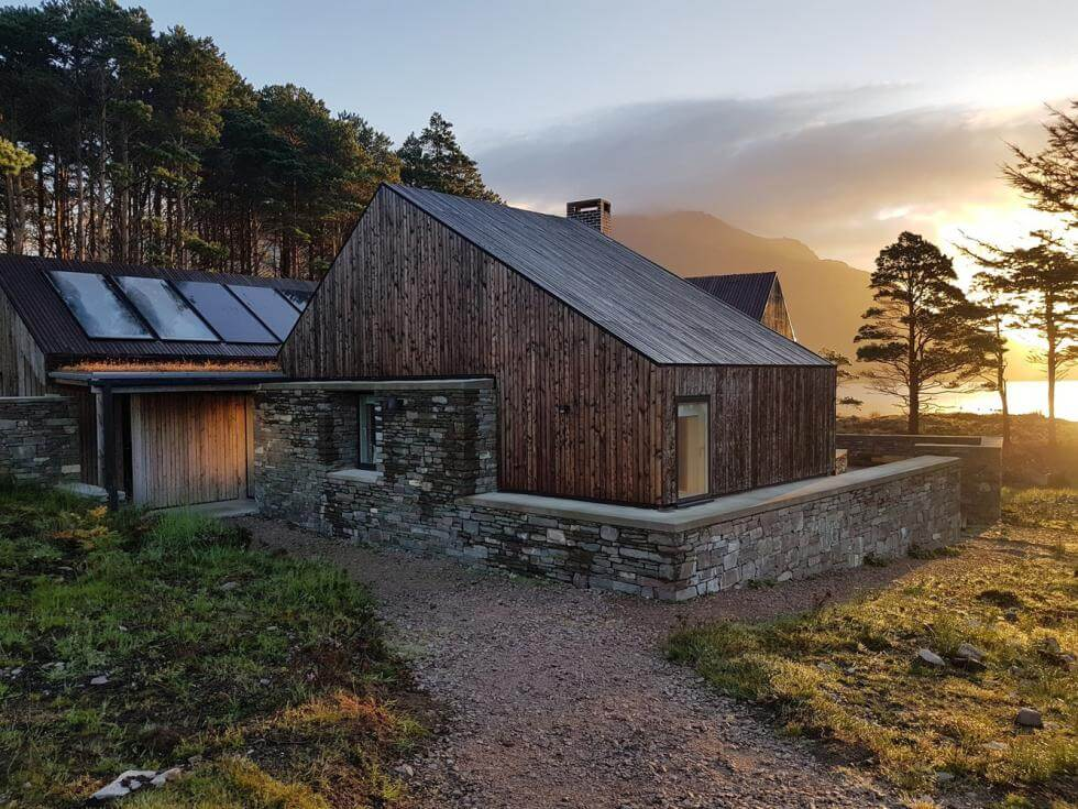 Lochside House off grid