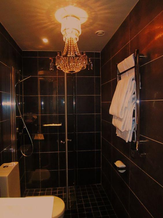 billig kristallkrona badrum