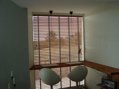 Bauhaus persienner trä – Vindskydd balkong