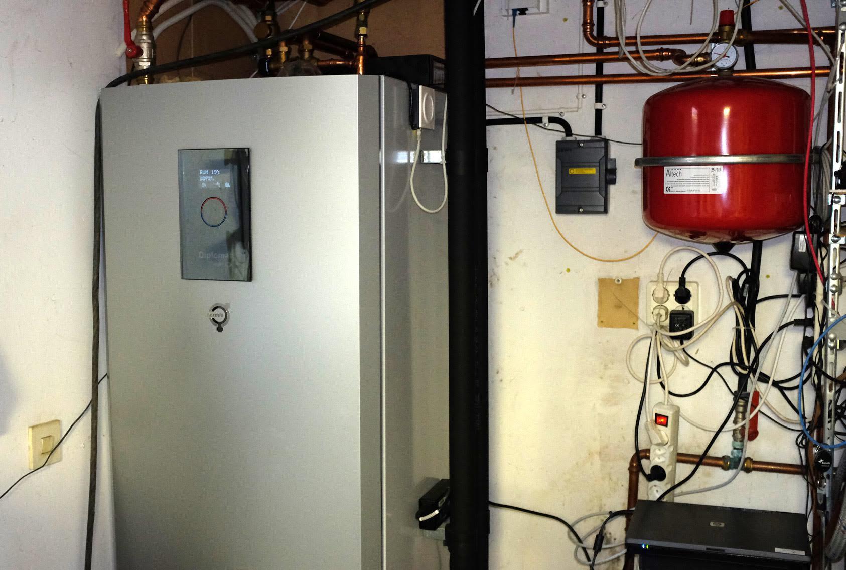 Ersatte direktverkande el med vattenburen jordvärme